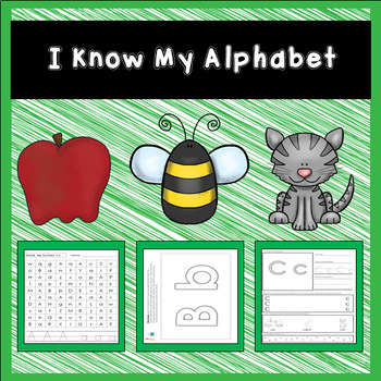 I Know My Alphabet ABC Morning Work Bundle