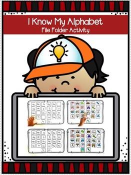 I Know My Alphabet (File Folder Activity)