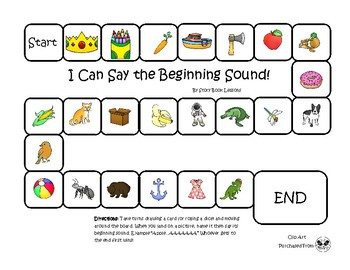 I Know My Beginning Sounds!