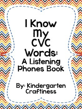 I Know My CVC Words: A Listening Phone Book