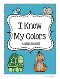 I Know My Color Words