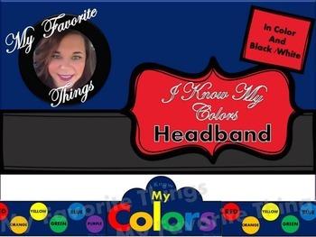 I Know My Colors Headband