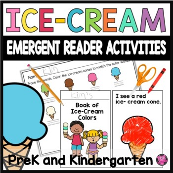 My Book of Colors and Sight Words Emergent Reader Mini Books
