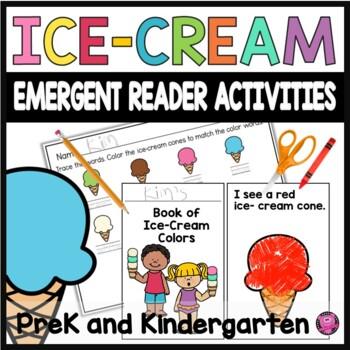 Emergent Reader Mini Books Activities for Kindergarten