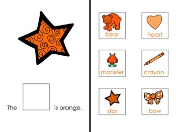 I Know My Colors: Orange! Interactive Reader