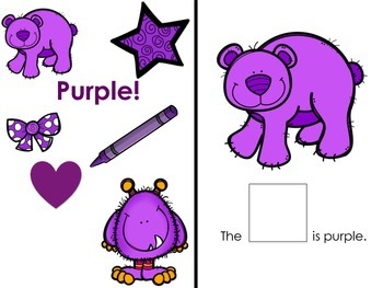 I Know My Colors: Purple! Interactive Reader