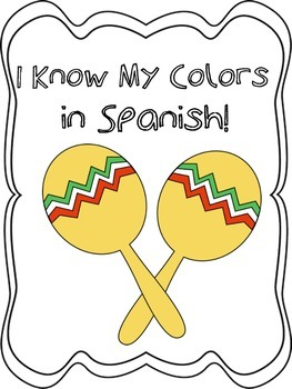 I Know My Colors in Spanish!