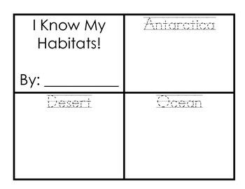 I Know My Habitats!