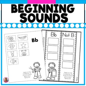 I Know My Letter Sounds! (Alphabet Picture Sorting for All 26 Letters)