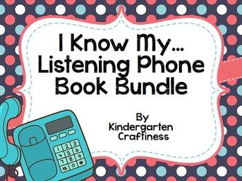I Know My... Listening Phones Phonics Bundle