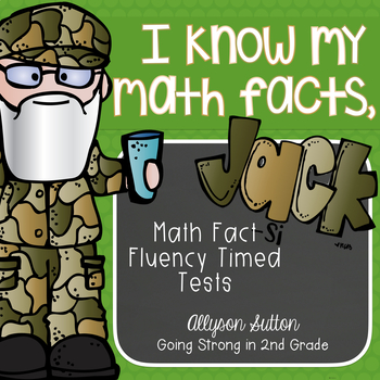 I Know My Math Facts Jack! Addition, Subtraction, Multipli