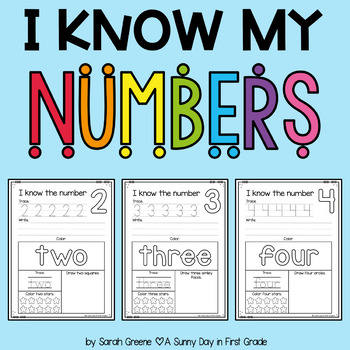 I Know My Numbers 0-10!