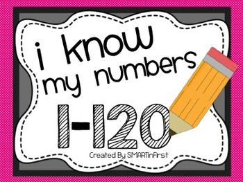 I Know My Numbers 1-120 Packet