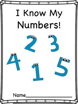 I Know My Numbers 1-5