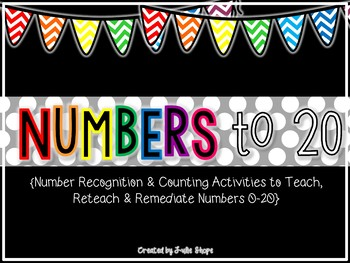 I Know My Numbers! Activities to Teach, Reteach & Remediate Students