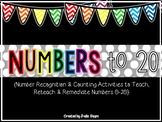 Numbers 0-20 {Activities to Teach, Reteach & Remediate Students}