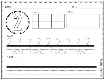I Know My Numbers : Number Representation Practice