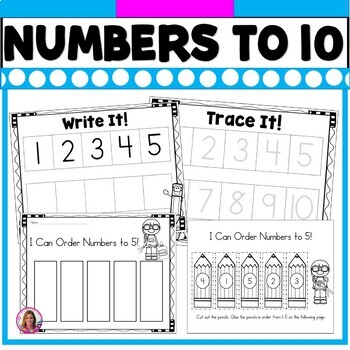 I Know My Numbers To 10! Practice Printables for Basic Number Sense