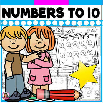 I Know My Numbers To 10! Practice Printables for Basic Num
