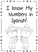 I Know My Numbers in Spanish!