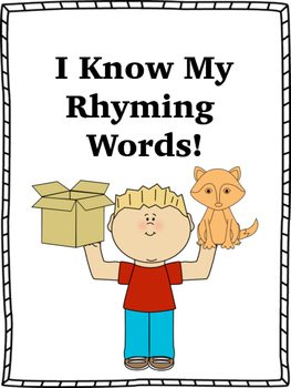 I Know My Rhyming Words!