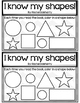 I Know My Shapes! Emergent Reader Book