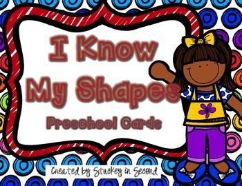 {$1 Deal} I Know My Shapes: Preschool Cards