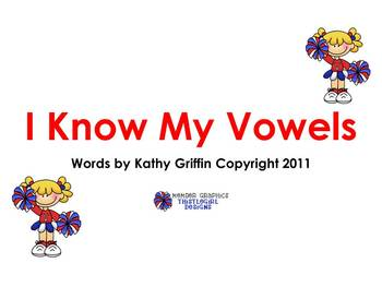 I Know My Vowels Books