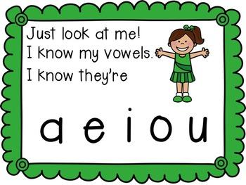 Short Vowels Video