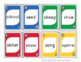 Nouns Sight Word Review Phonics Card Game