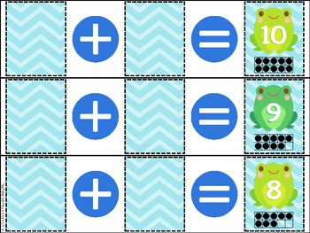 I Know Numbers 0-10 (Number Sense) Activity & Printables {Frogs}
