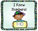 I Know Numbers 1-10