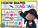 I Know Shapes Brag Tags (16 Different Shape Brag Tags)