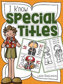 I Know Special Titles