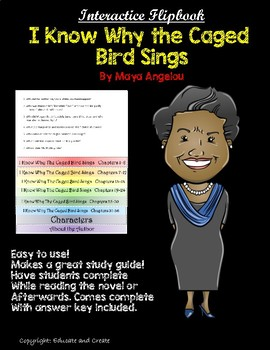 I Know Why The Caged Bird Sings Interactive Flipbook.