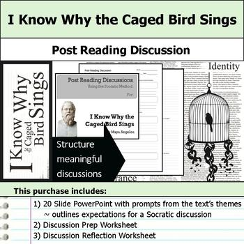 I Know Why the Caged Bird Sings Unit Bundle