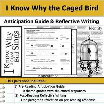I Know Why the Caged Bird Sings - Anticipation Guide & Reflection