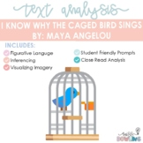 Close Read Poem Analysis: I Know Why the Caged Bird Sings by Maya Angelou