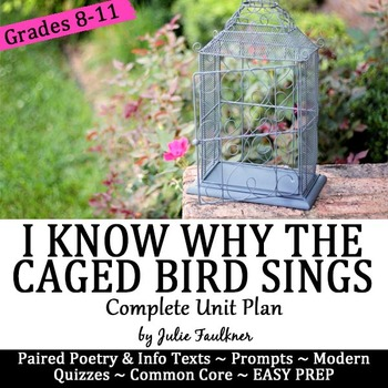 I Know Why the Caged Bird Sings Angelou Literature Guide,