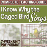 I Know Why the Caged Bird Sings Literature PACKET BUNDLE | DISTANCE LEARNING