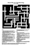 I Know Why the Caged Bird Sings - Crossword Puzzle