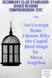 I Know Why the Caged Bird Sings Excerpt by Maya Angelou Reading Test