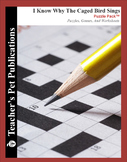 I Know Why the Caged Bird Sings: Puzzle Pack - Crosswords, Worksheets, Games
