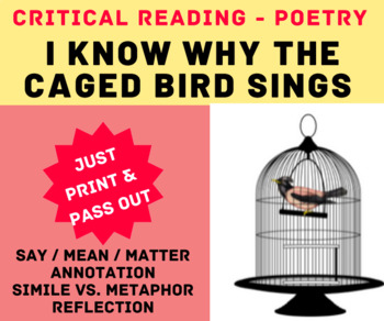 I Know Why the Caged Bird Sings by Maya Angelou: Critical Reading
