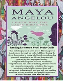 I Know Why the Caged Bird Sings by Maya Angelou Literature Novel Study Guide