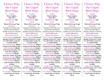 I Know Why the Caged Bird Sings edition of Bookmarks Plus: Fun Freebie!