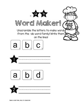 I Know Word Families: Short 'a' Review