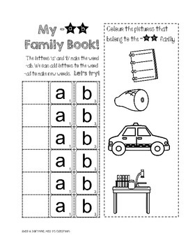 I Know Word Families : Short 'a'