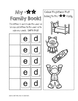 I Know Word Families : Short 'e'