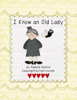 I Know an Old Lady {Felt Story Set}